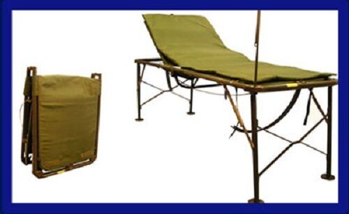 Us Military Surplus Army Portable Field Hosptial Bed Cot