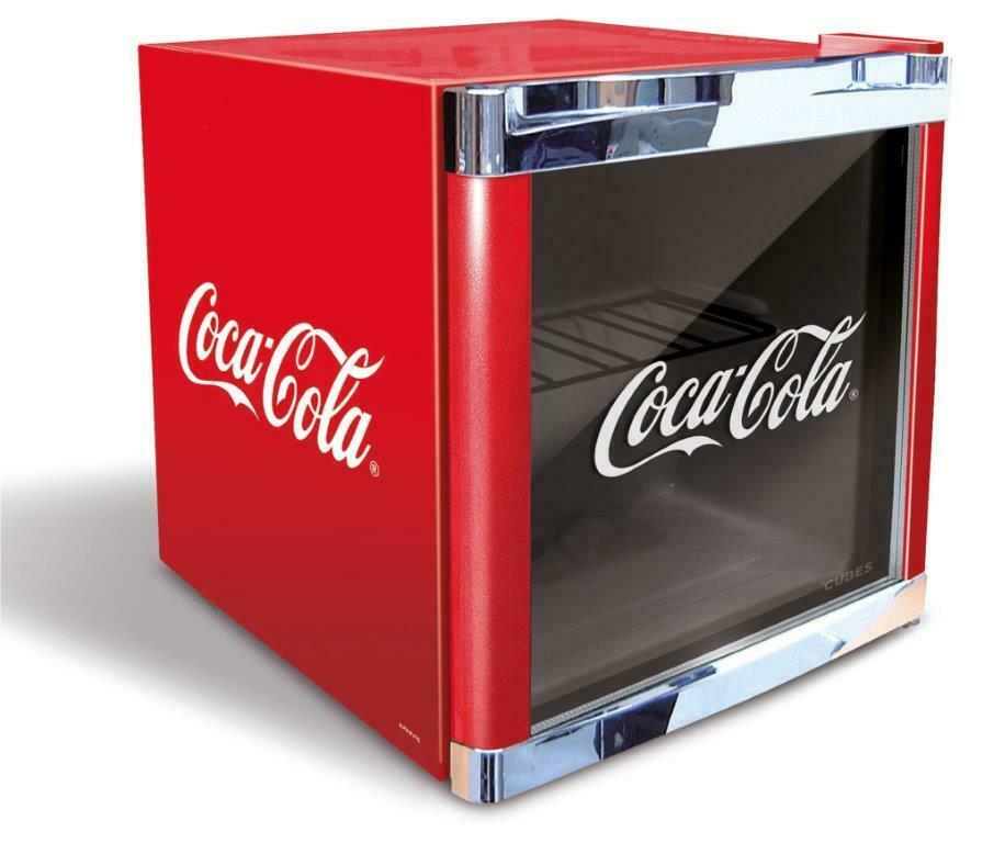 husky coca cola k hlschrank coolcube coca cola mini. Black Bedroom Furniture Sets. Home Design Ideas