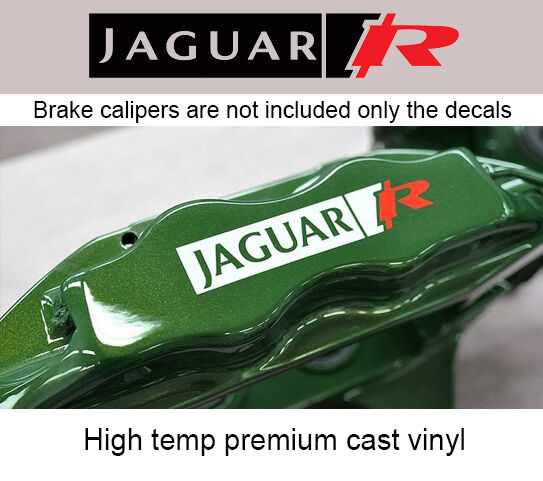 Set Of 6x Jaguar R Brake Caliper Decal Sticker Fits F Type. Red Blue Yellow Green Logo. Angelic Lettering. Bicycle Stickers. Elementary Signs Of Stroke. Taxiway Signs. Classical Murals. Success Signs Of Stroke. Brave Lettering