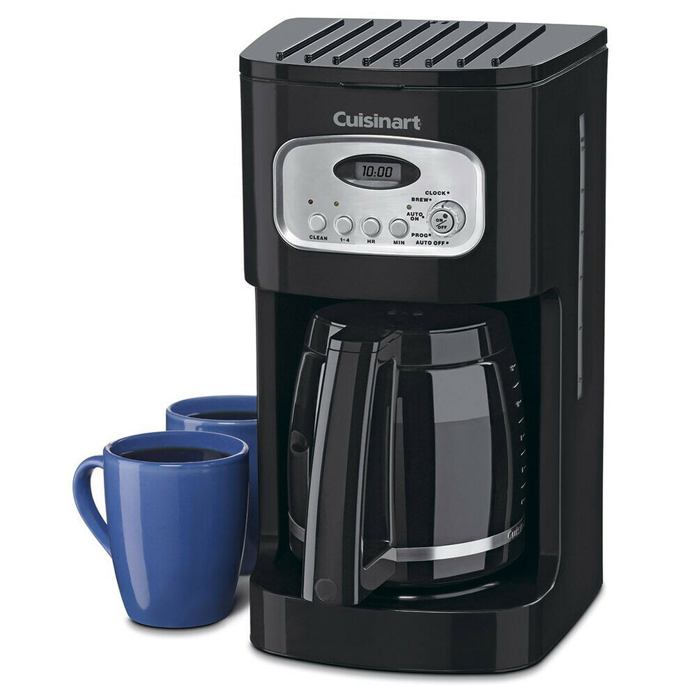 programmable coffee maker cuisinart dcc 1100bk 12 cup programmable coffeemaker 31084