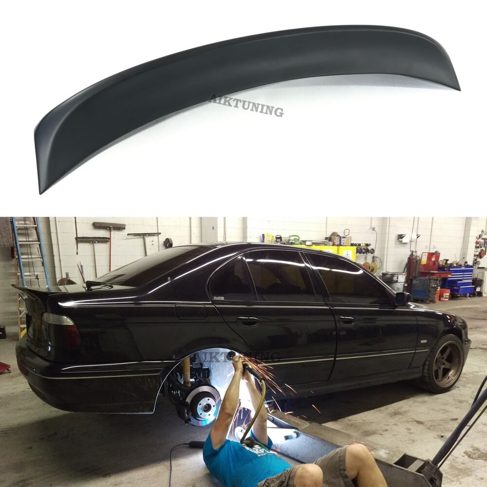 Bmw E39 Csl Rear Boot Lid Trunk Spoiler Ducktail Wing Lip