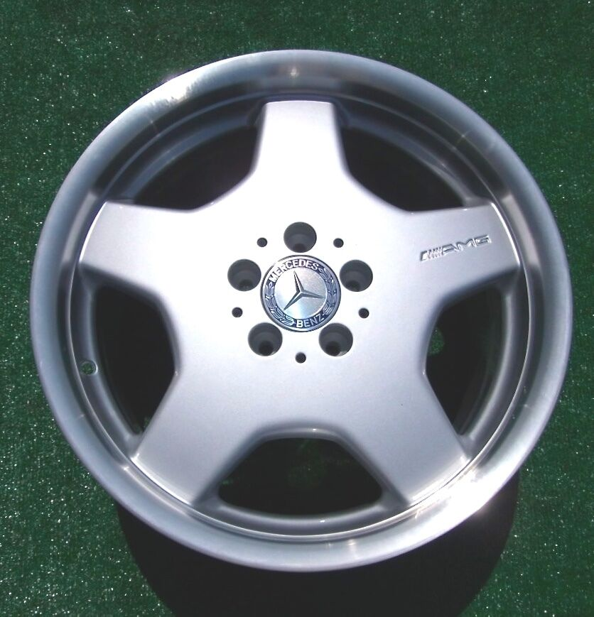 4 genuine oem factory amg mercedes benz 18 monoblock for Mercedes benz wheels rims