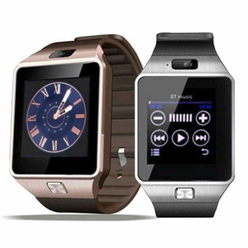 iphone smart watch dz09 bluetooth smart gsm sim card amp for ios 9761