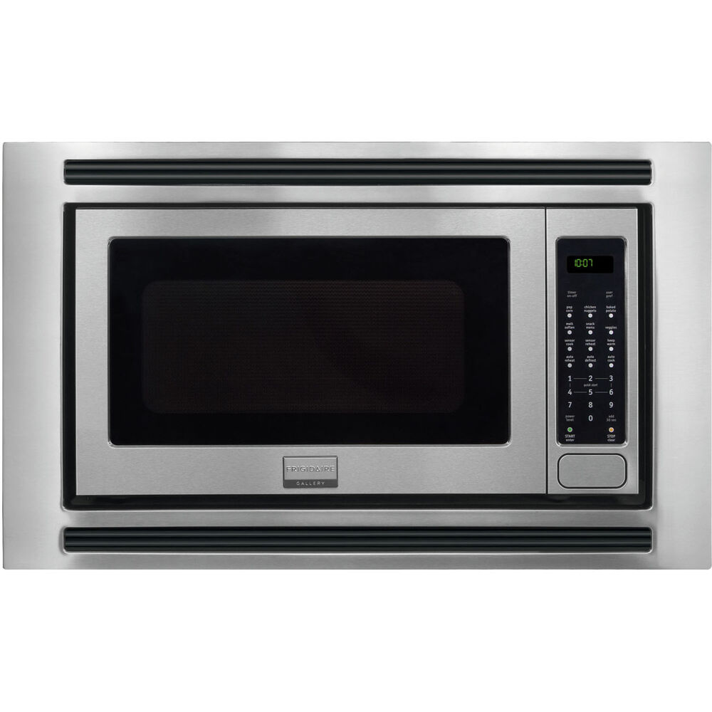 Frigidaire Gallery Stainless Built In Microwave Amp 27 Quot Trim