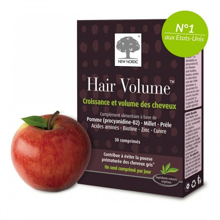 New Nordic Hair Volume Health Vitamin Supplement Nails Skin Vegan NON ...