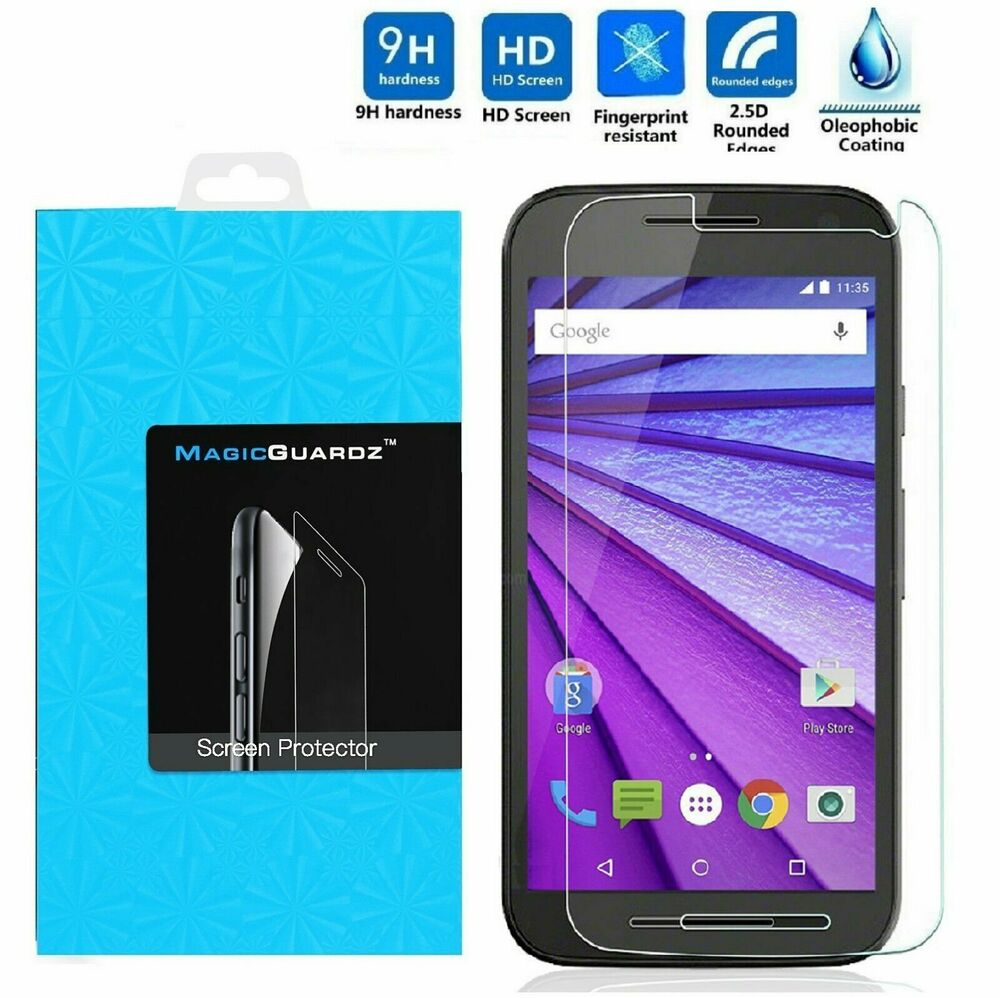 olixar moto g 3rd gen tempered glass screen protector fueled