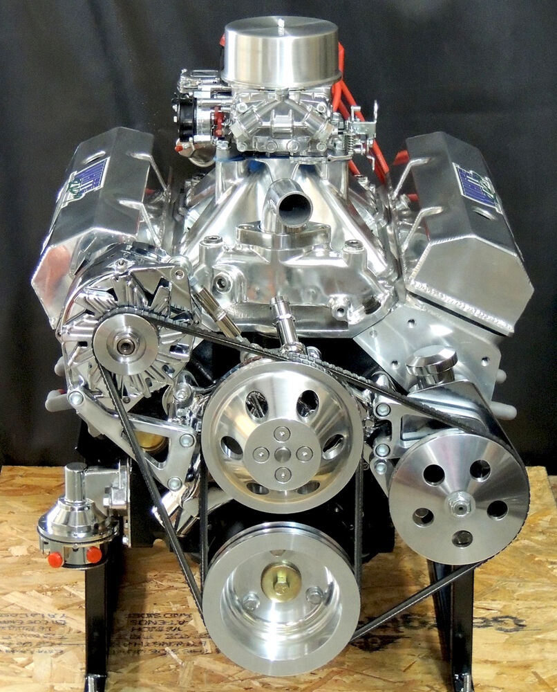 Sbc Supercharger Roller Cam: SBC 383 CHEVY STROKER ENGINE & HYD ROLLER CAM 450 Hp CRATE