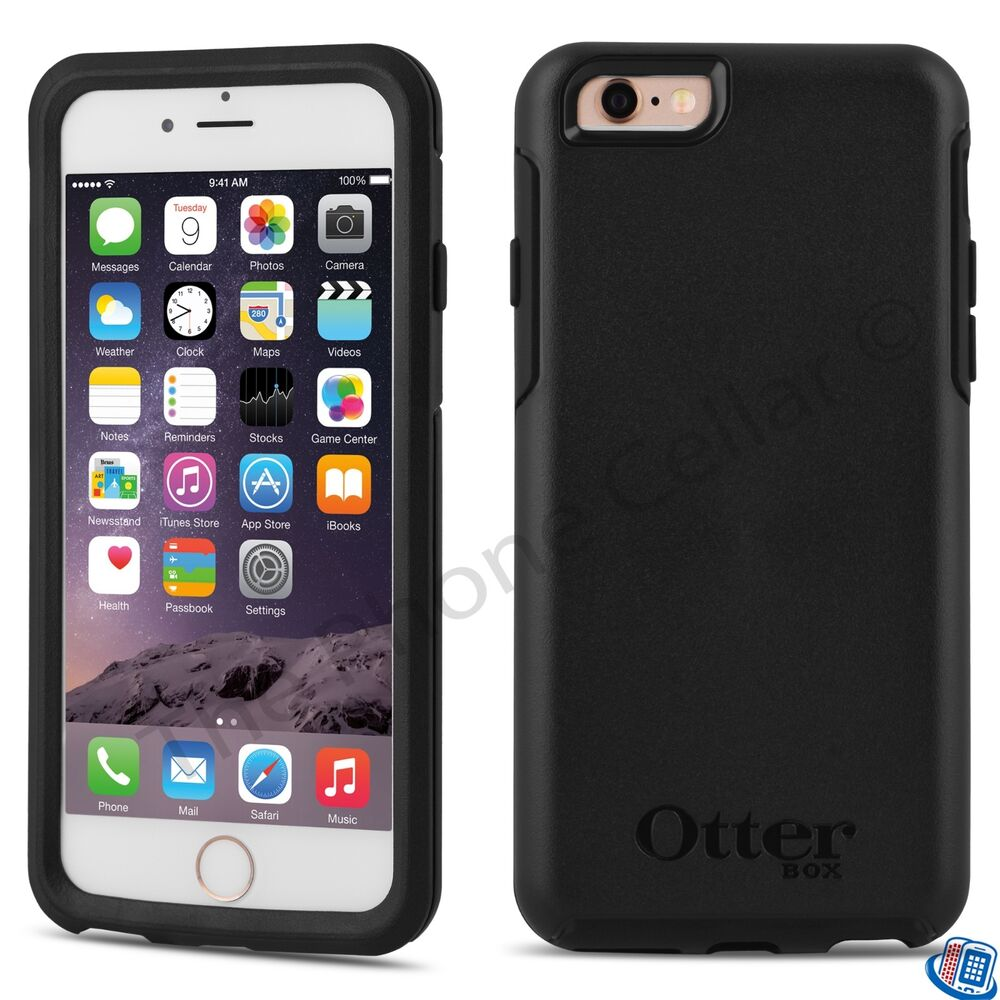 phone case iphone 6 new oem otterbox symmetry series black for apple 3572
