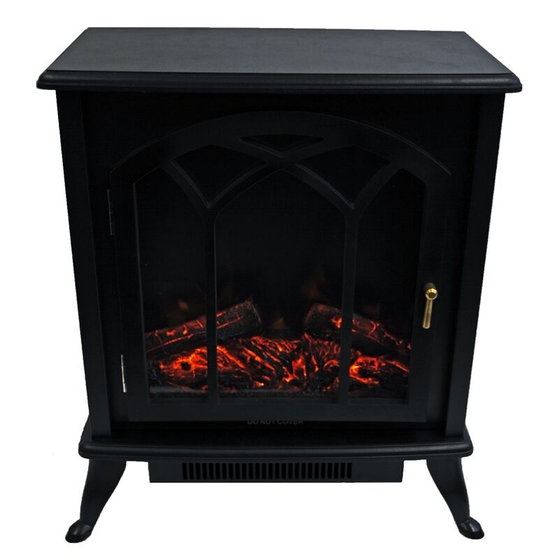 Portable 120v Electric Fireplace Stove 750 1500w Heater W