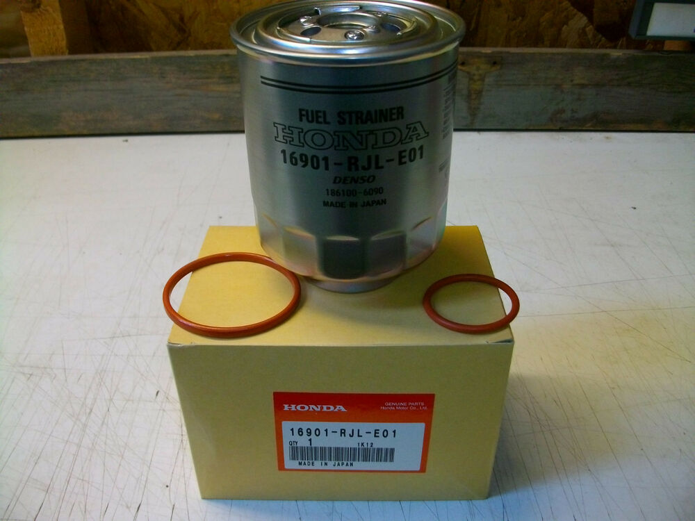 genuine honda civic accord crv diesel fuel filter 2006. Black Bedroom Furniture Sets. Home Design Ideas