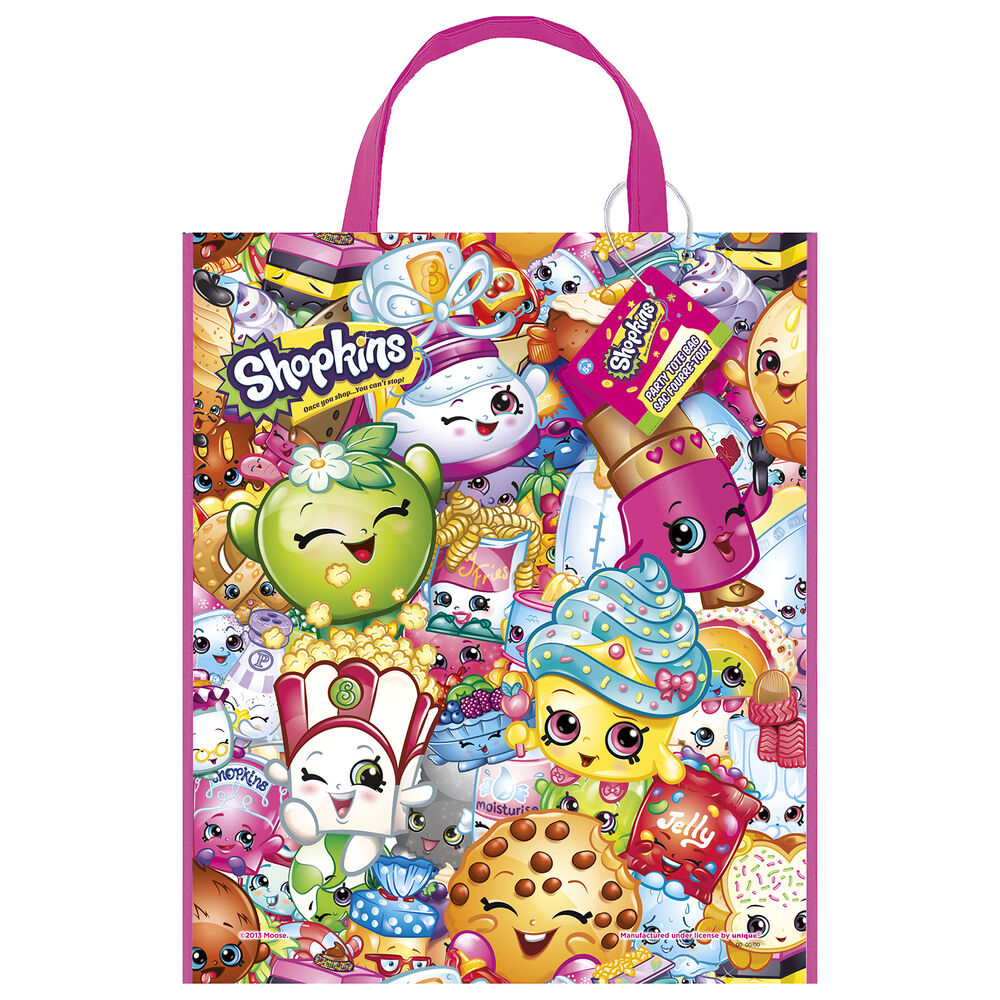 "13"" X 11"" Shopkins Birthday Party Treat Loot Gift Favor"