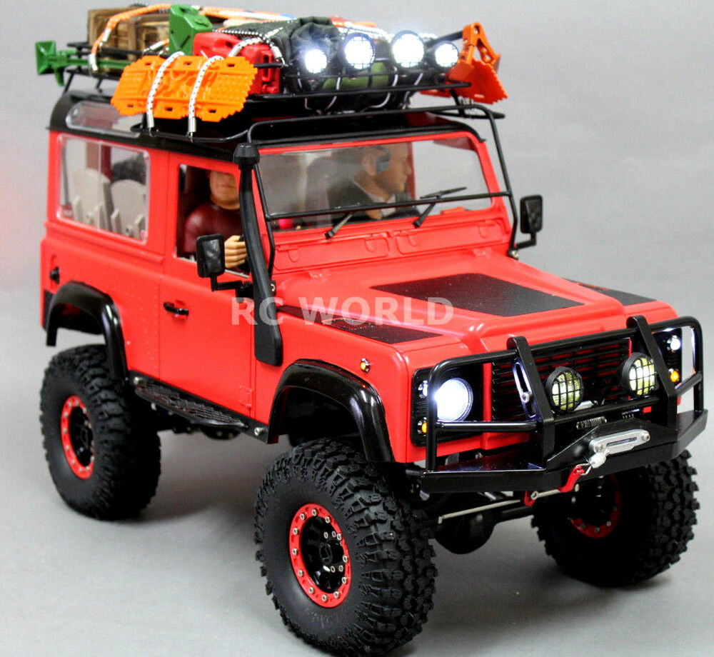 Rc4wd 1 10 Land Rover Defender 90 Expedition Rock Crawler