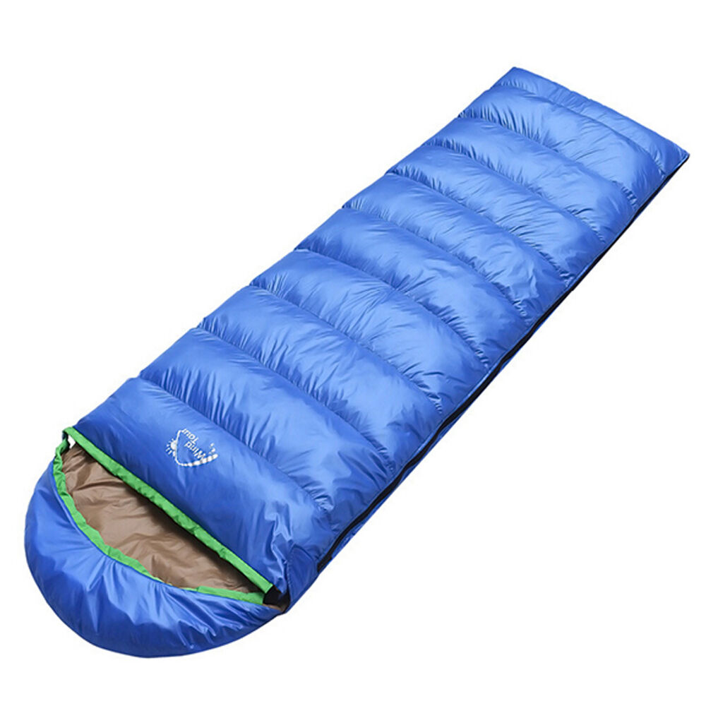 New Outdoor Camping Duck Down Envelope Sleeping Bag Cover ...