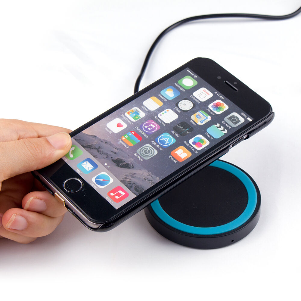 qi wireless charger receiver case for iphone 6 6s 6 plus. Black Bedroom Furniture Sets. Home Design Ideas