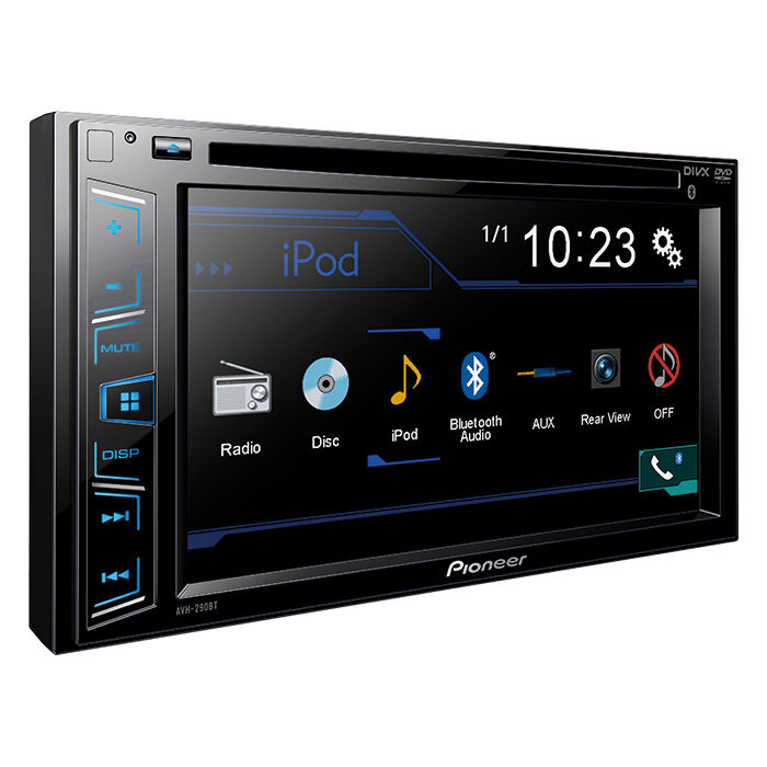 new pioneer 2 din avh 290bt dvd mp3 cd player 6 2 bluetooth backup camera ready ebay. Black Bedroom Furniture Sets. Home Design Ideas