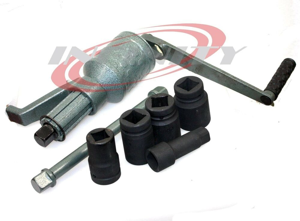 HAND TORQUE MULTIPLIER TRUCK RIM TIRE TRAILER LUG NUT ...