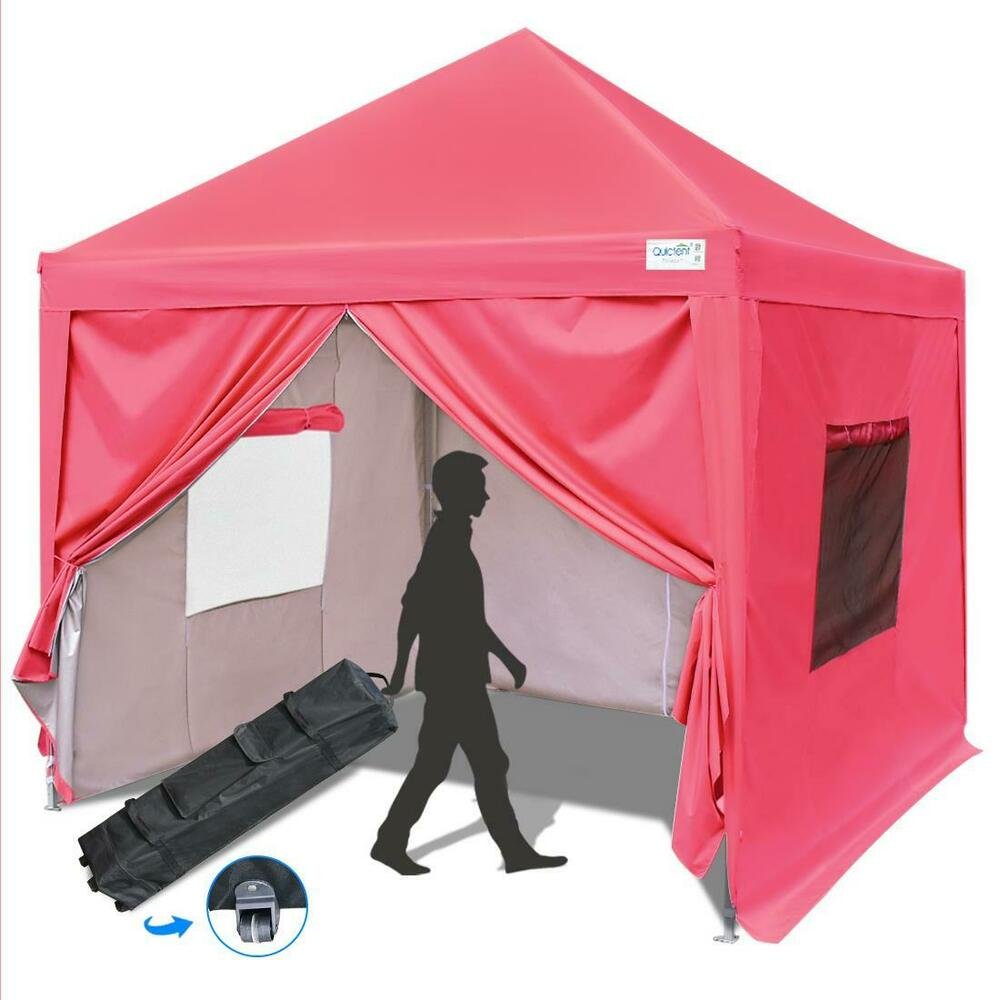 Quictent Privacy 10 39 X10 39 Blue Screen Curtain Ez Pop Up Party Tent Canopy Gazebo Ebay