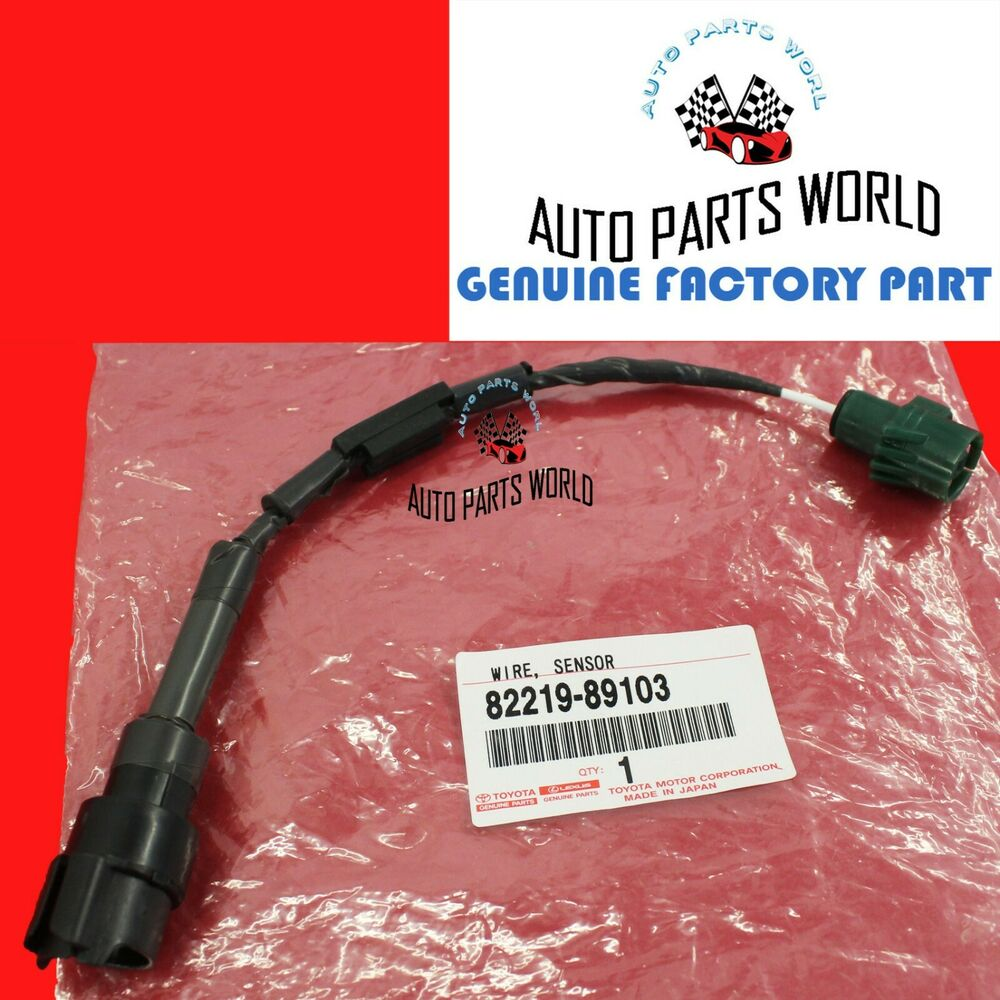 GENUINE TOYOTA 88 92 4RUNNER PICKUP KNOCK SENSOR WIRE 3 0L