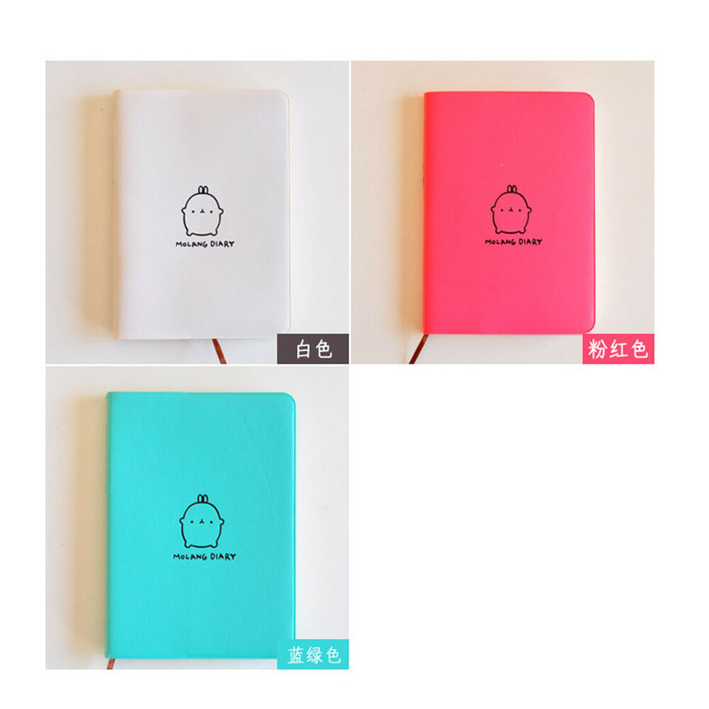 Mini Notebook Memo Daily Emoticon Leather Book Blocks Pocket Notes 1