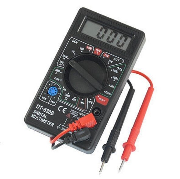 All In One Electrical Testers : Digital multimeter ac dc voltmeter ohmmeter electrical