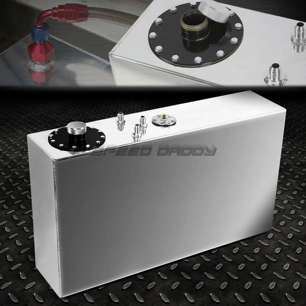 17 Gallon 64l Top Feed Slim Aluminum Race Drift Fuel Cell