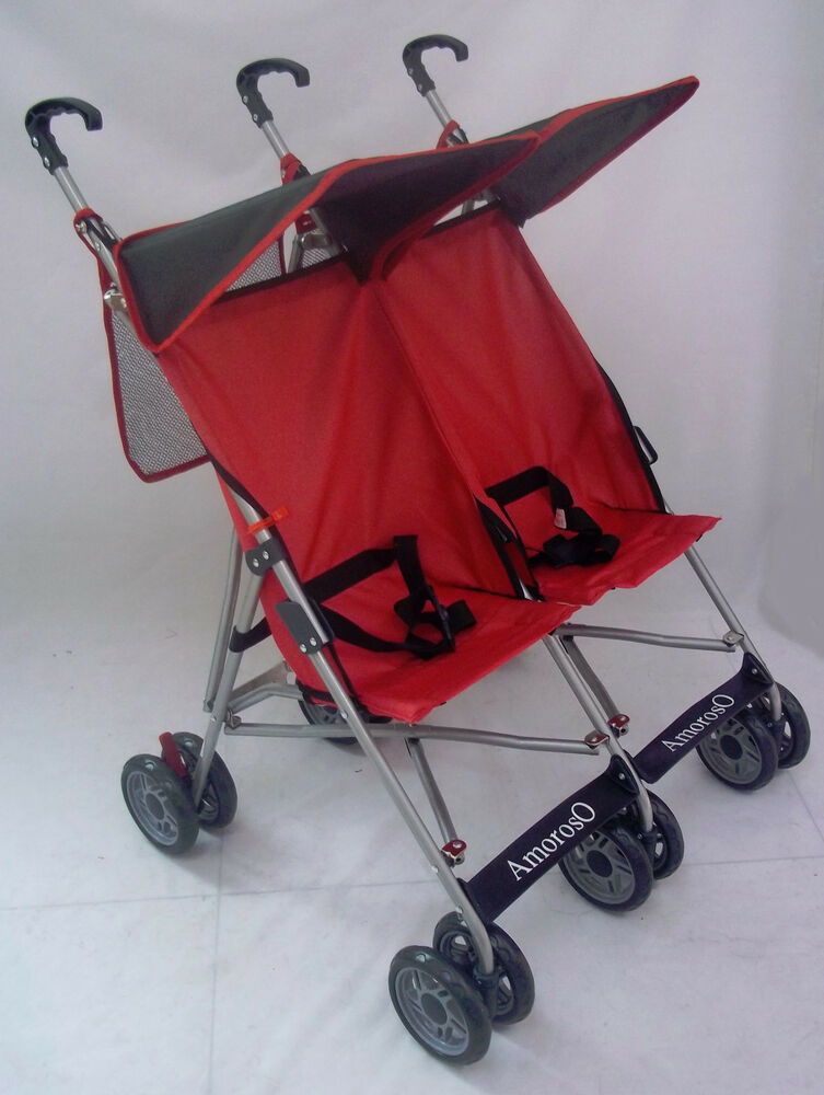 Twin Umbrella Stroller New Baby Double Strollers 4232