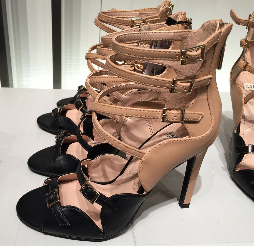 84be27a83a0 ZARA HIGH HEEL SANDALS WITH BUCKLES 36-41 Ref. 3605 101