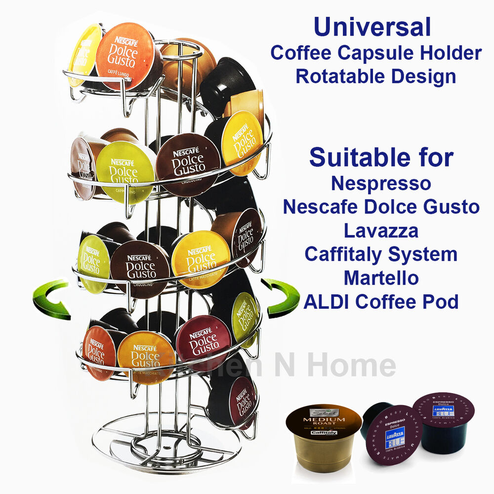 Universal Coffee Capsule Holder For Dolce Gusto Nespresso