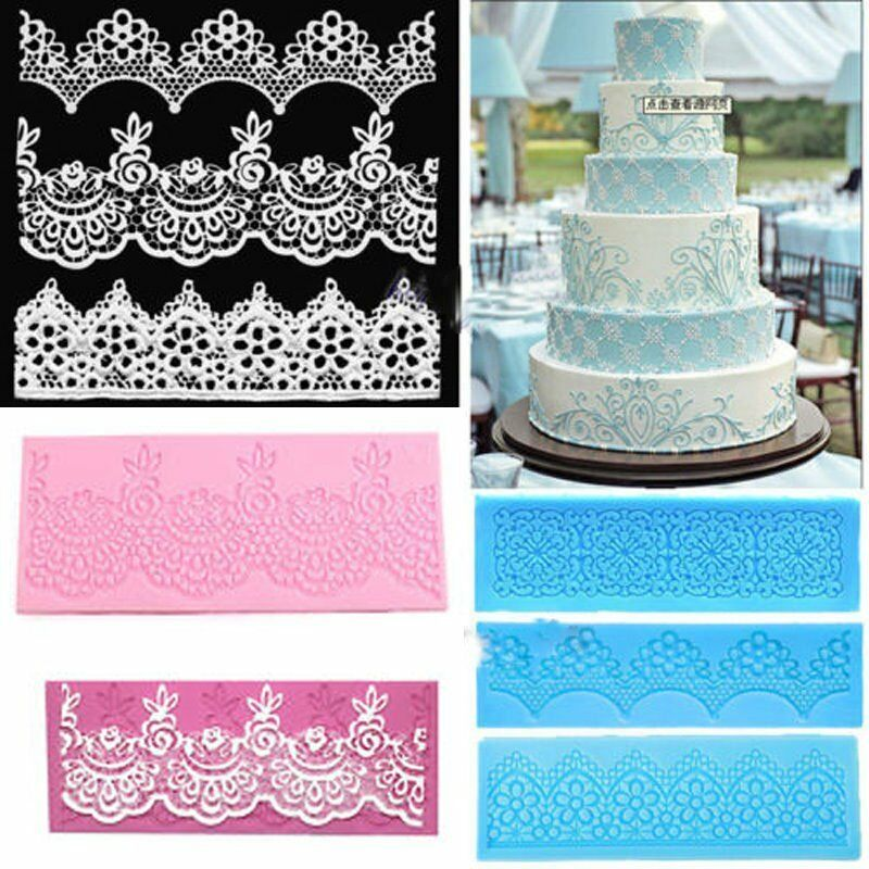 Cake Decorating Sugar Letters : DIY Silicone Letter Cake Mould Mat Fondant Sugar Craft ...
