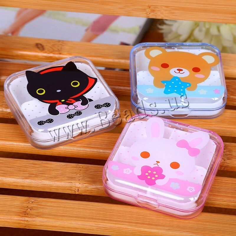 7 day 4 cell tablet medicine cute pill box storage. Black Bedroom Furniture Sets. Home Design Ideas