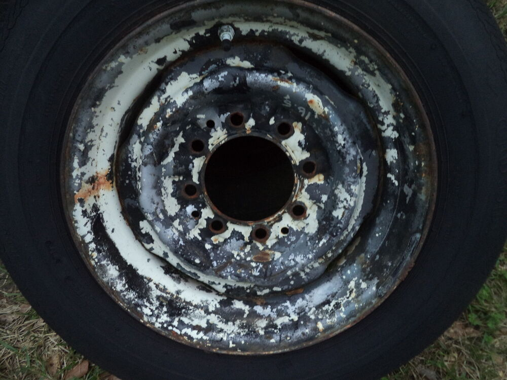 CHEVY TRUCK GMC WHEEL WHEELS 16.5 8 LUG BOLT PATTERN 3/4 ...