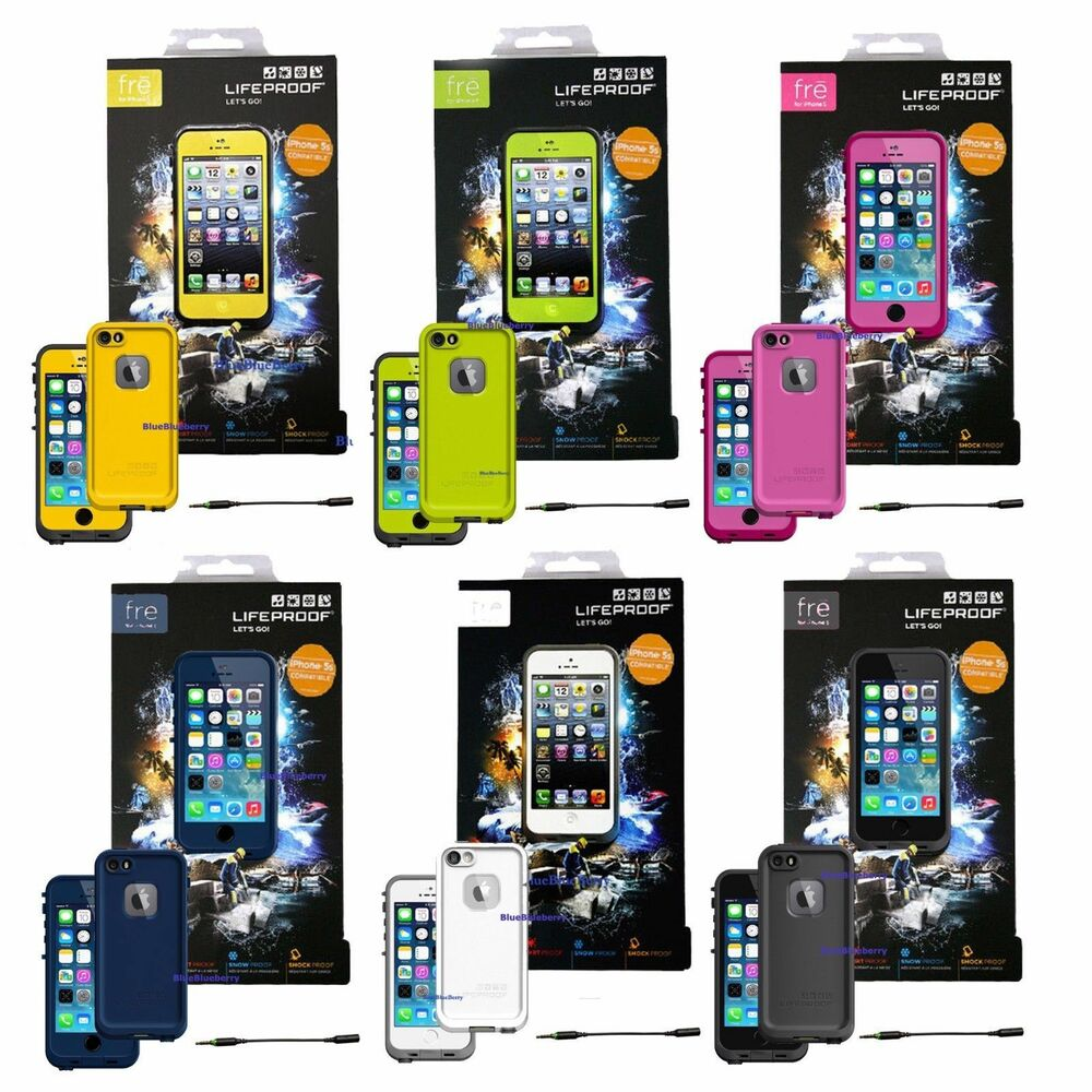 iphone 5s for sale ebay new authentic lifeproof fre waterproof shockproof cases 2935