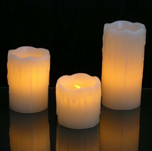 red electric christmas candles for sale