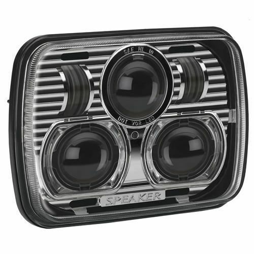 Jw Speaker Lights : Jw speaker evolution led headlight jeep