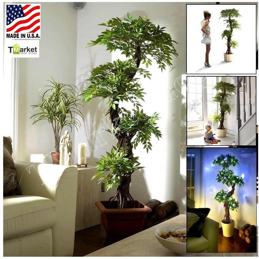 Artificial Realistic Large Japan Fruticosa Tree Fake Modern Decor Indoor Plant Ebay