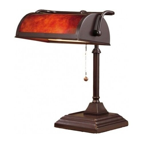 Bankers Desk Lamp Vintage Antique Shade Lighting Office