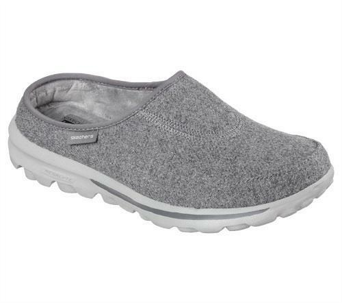 Skechers Gray And Black Shoes