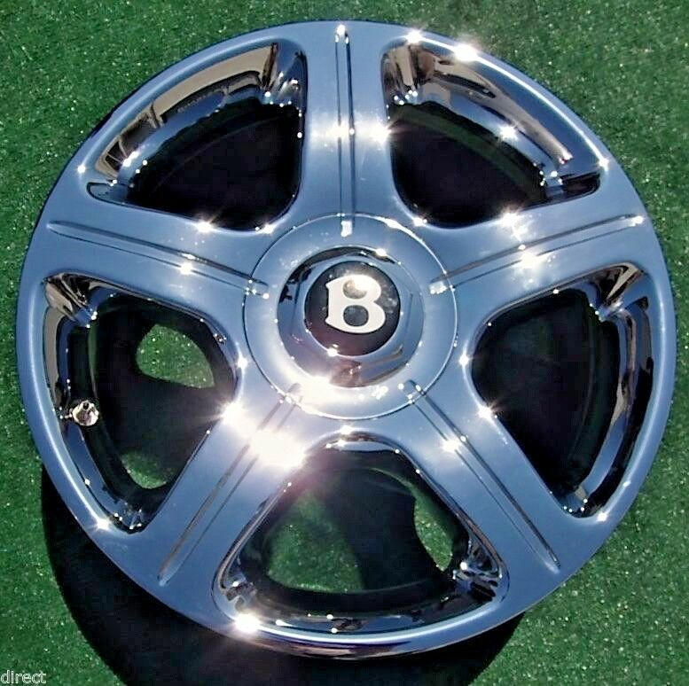 New Genuine OEM Factory Bentley ARNAGE CHROME 18 In WHEEL