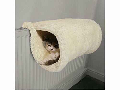 Luxury cat bed tunnel warm radiator mounted or floor standing by rosewood ebay - Radiateur warm confort ...
