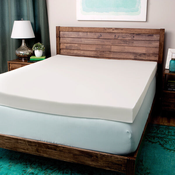 New Comfort Dreams Ultra Soft 4 Inch Memory Foam Mattress Topper Pick Size Ebay