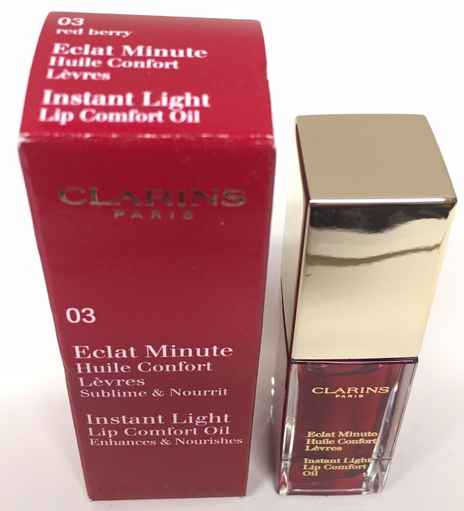 Clarins Instant Light Lip Comfort Oil Limited Edition 03