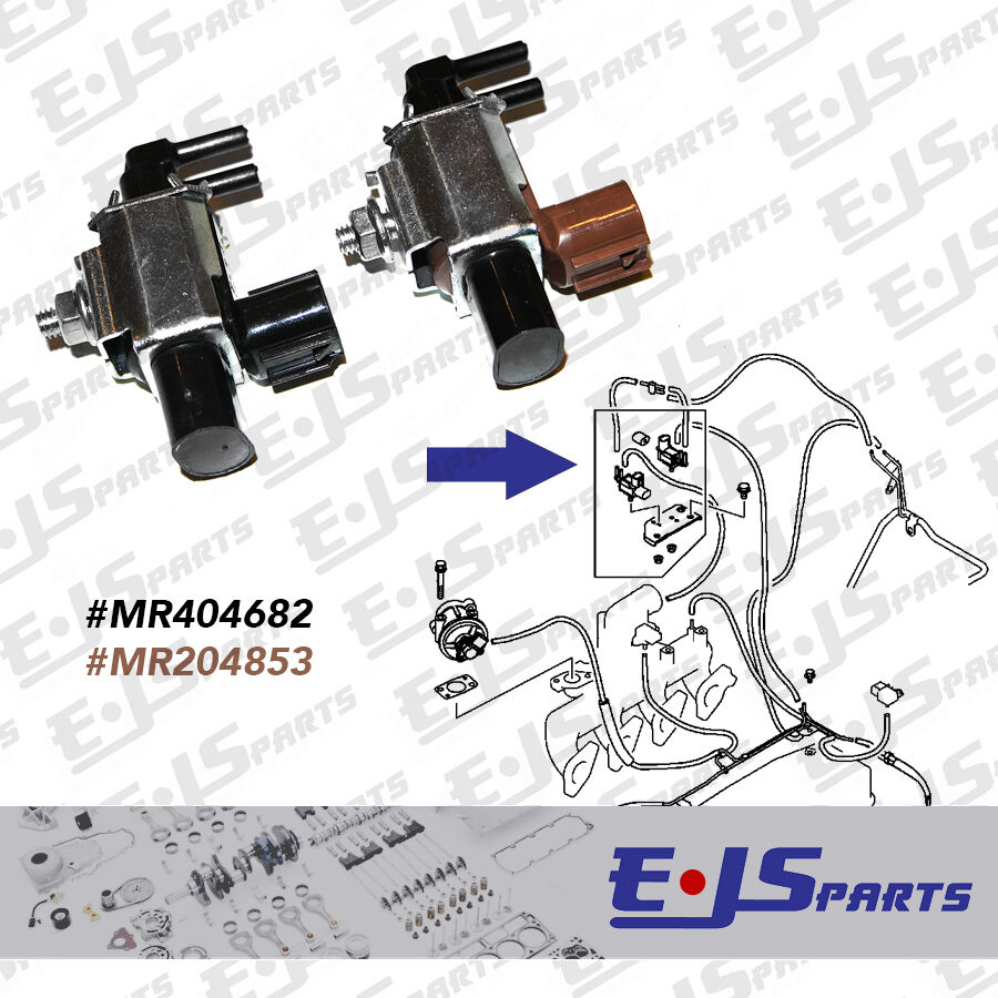 New Throttle Valve Vgt Solenoids For Mitsubishi L200 Shogun Pajero Parts Catalog Diagrams 25td Ebay