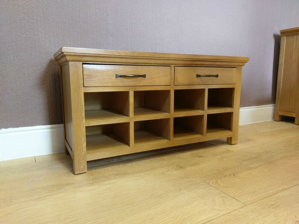 Foyer Bench Toronto : Toronto solid oak hall bench monks shoe storage cm