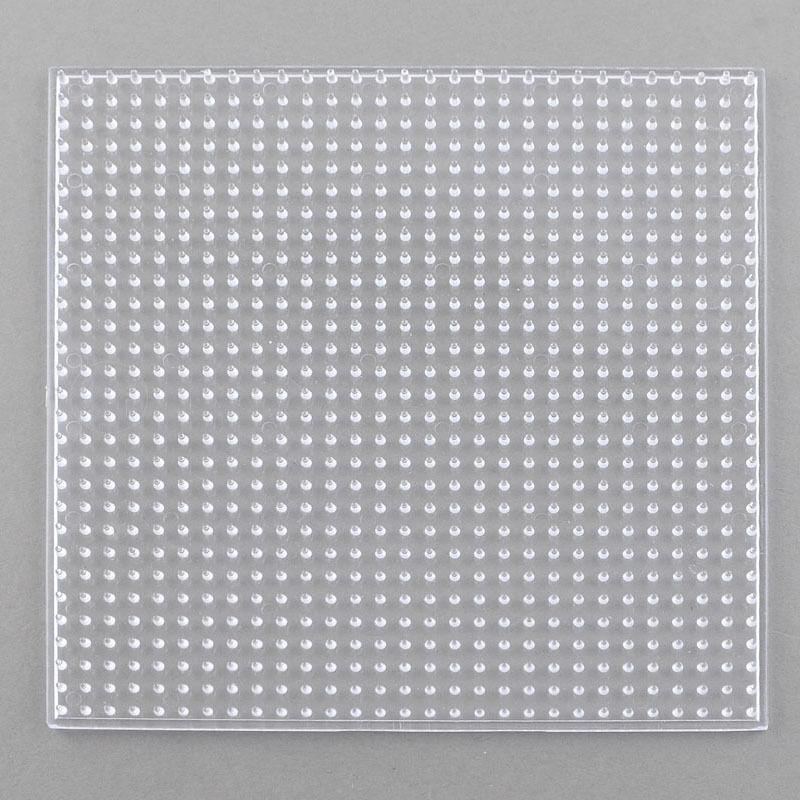 clear transparent square board for hama fuse 14 cm
