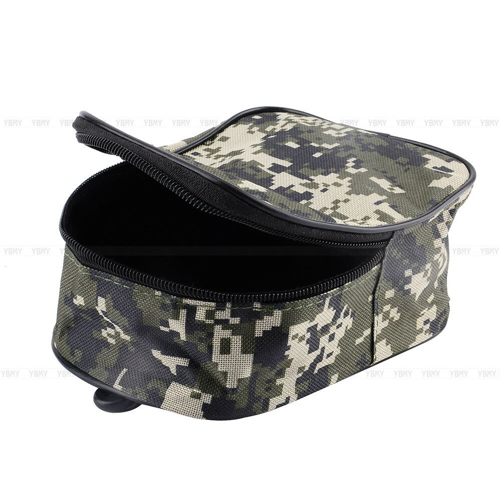 Portable fishing tackle bag pocket pouch outdoor fishing for Fishing reel bag