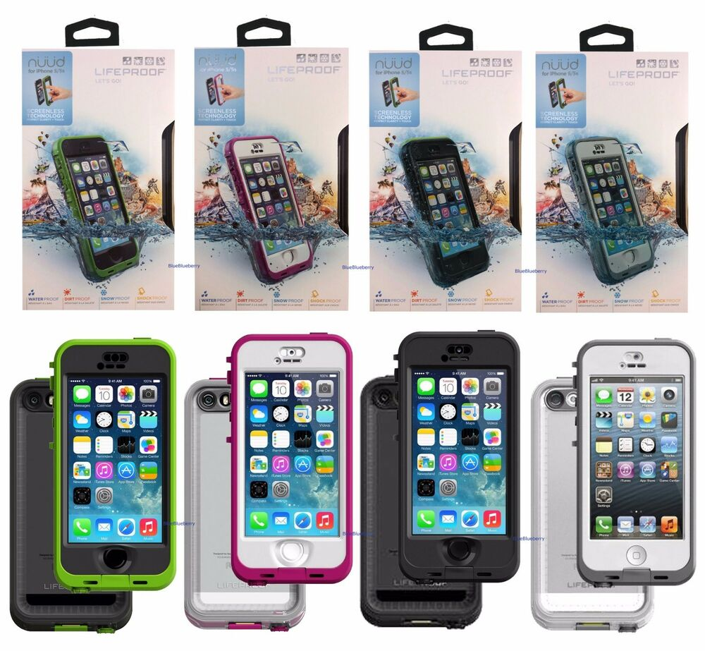 New Genuine LifeProof Nuud Series Waterproof Case For