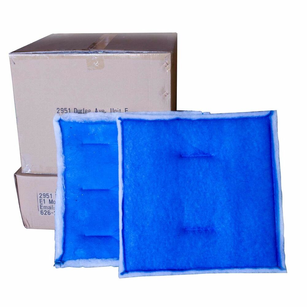 Intake filter paint spray booth 20 39 x 20 20 c ebay for Paint booth intake filters 20x20