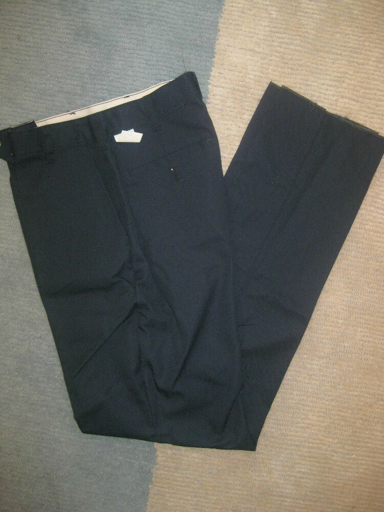 Mens 38 R Black Raffinatti Cutaway Jacket Tuxedo Morning: Mens Pants Navy Blue Chino Best 38 X 30 Elastic Back Waist
