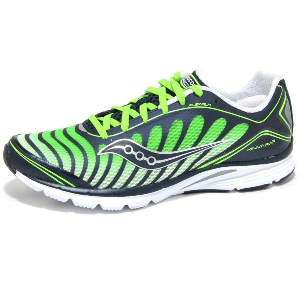 b0abf63bee3c Details about 0610O sneakers uomo SAUCONY PROGRID KINVARA 3 blu verde shoes  men