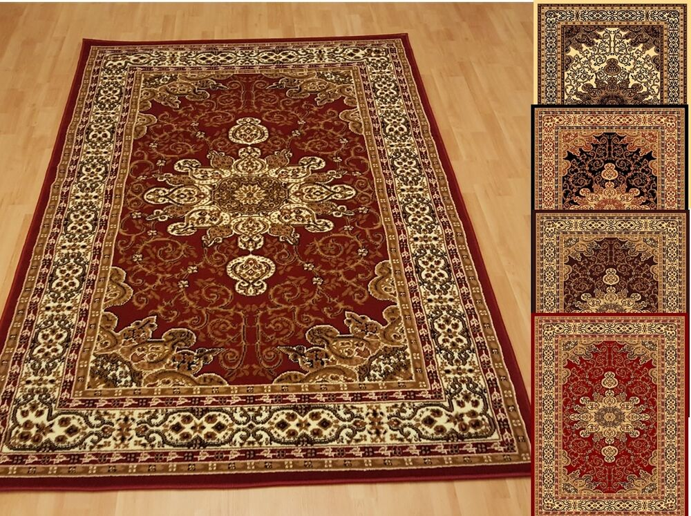 beautiful medallion persian style area rug 5x7 and 8x10